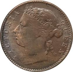 Britischen Straits Settlements Victoria Königin 1/4 Cent 1899 1901 1916 Jahr Rot Kupfer Kopie Münzen