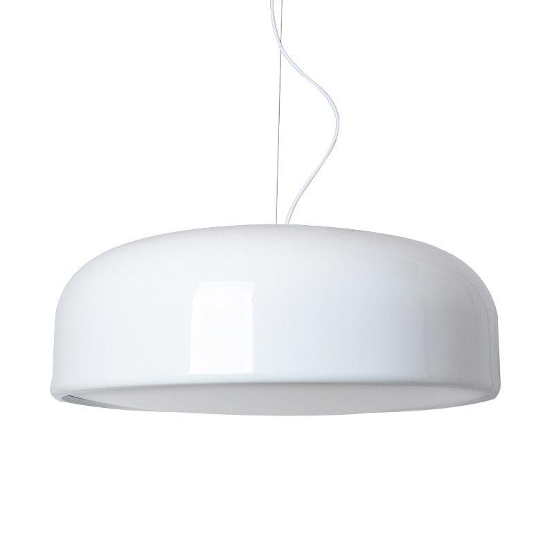 45/60 cm moderne Smithfield Design lampes suspendues pour salon blanc Abajur lampes suspendues chambre lampara Vintage E27 220 v Loft45/60 cm moderne Smithfield Design lampes suspendues pour salon blanc Abajur lampes suspendues chambre lampara Vintage E27 220 v Loft