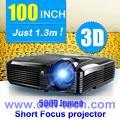 5000 Lúmenes DLP de tiro corto Proyector para el sistema de piso interactivo DEFI proyección mucho más grande tamaño