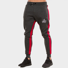 HZIJUE 2018 Men's AthleticPants Workout Cloth Sporting Active Cotton Pants Men Jogger Pants Sweatpants Bottom Legging