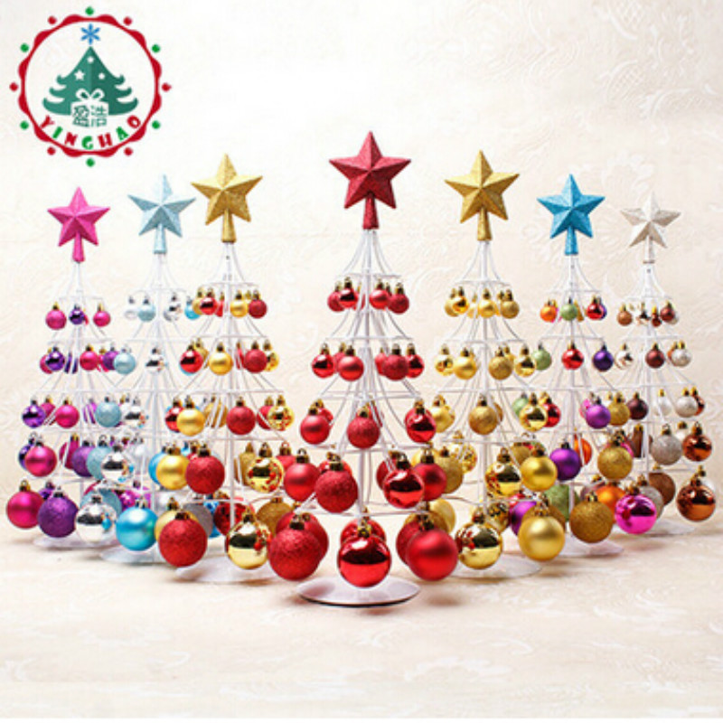 2018 Fashion Navidad Christams Ball Ornaments Christmas Decorations For Home Or Party Christmas Tree Ornaments