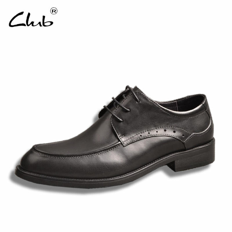 Club Leather Formal Shoes For Men Dress Shoes Luxury Brand Lace-up Business Casual Shoes Flats Leather Italian Mens Shoes Brands italian designer formal men dress shoes genuine leather flat shoes for office career shoes men business leather shoes 010 169