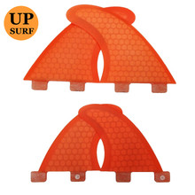 New Design FCS Quad Fins SUP Surfboard G5+GL Fin Honeycomb Quilhas In Surfing