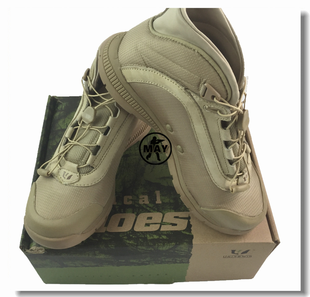 Outdoor Desert Boots US Military Assault Tactical Boots Breathable Wear Slip Men Casual Travel ...