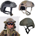 Military gear voodoo protective helmet riding plastic material field PJ Type Tactical Fast Helmet for Airsoft Paintball