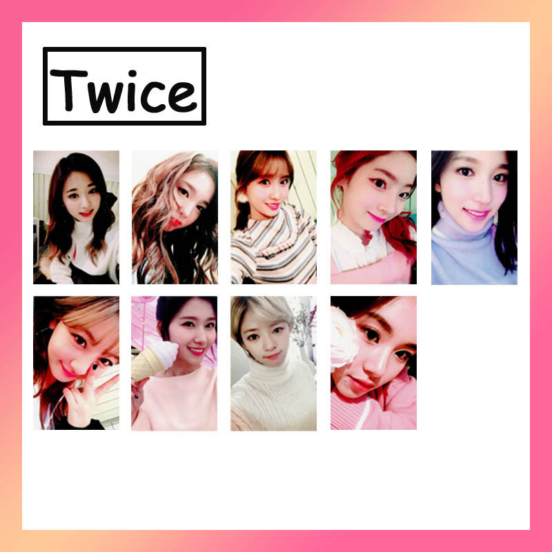 Aliexpress com : Buy KPOP TWICE The Story Begins Album Photo Card K POP  Self Made Paper Cards Autograph Photocard from Reliable Jewelry Findings &