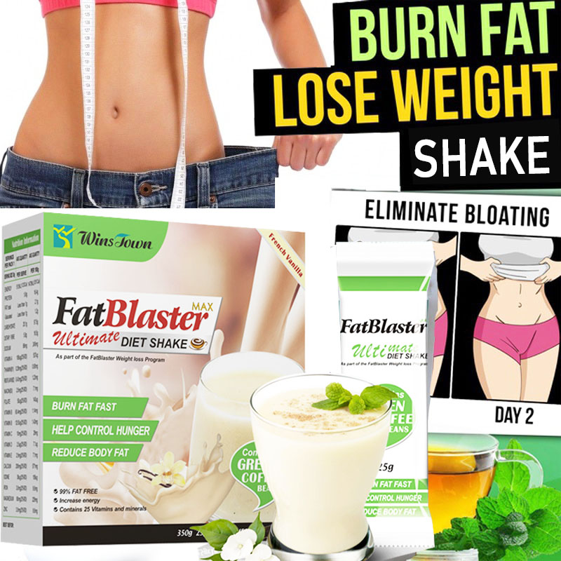 Us 4 89 Fat Blaster Diet Shake Fast Burn Fat Healthy Weight Loss Slimming Products Contain Vitamin And Minerals For Reduce Body Fat In Slimming