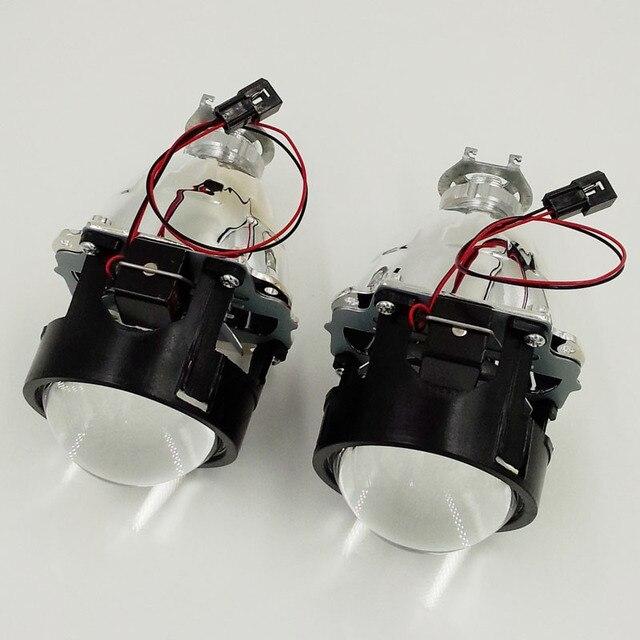 2 ШТ. 2.5 дюйма Ultimate WST Би-ксеноновые HID Объектив проектора для H4 H7 фара Использование H1 Ксеноновая Лампа Новый Автомобиль Стайлинг LHD RHD