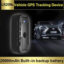 Auto Car GPS Tracker LK209C 20000 mAh แบตเตอรี่ Real Time Locator Locator แม่เหล็กที่มีประสิทธิภาพเวลาสแตนด์บาย 240 วันกันน้ำ IP67