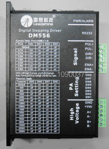 3 StüCke DM556 Treiber Schritt Motor 2 Phase 5,6A für 57 86 Schritt Motor C Q8N9