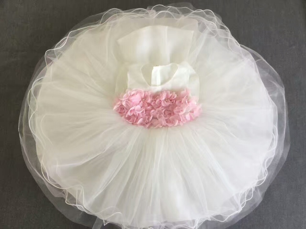Real Photo baby girls dress Flower girl for wedding  kids princess dresses bow tutu dress 857 seamless nail wedding photo frame wall paintings hook the real invisible