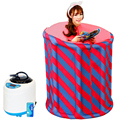 Casa de Sauna A Vapor Caixa de Vapor de Aromaterapia Spa Sauna A Vapor Tenda Insônia Tratamento de Desintoxicação Do Corpo de Emagrecimento 110-240 V EUA UK Plug UE