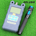KELUSHI Optical Fiber Power Meter -70dBm~+10 dBm Fiber Optic Power And 1mW 5KM Visual Fault Locator Fiber Optic Cable Tester