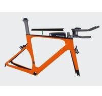 MIRACLE 2018 Di2 Aero Carbon Traithlon Bike 49 52 54 56 59cm BB86 Time Trial Bicycle