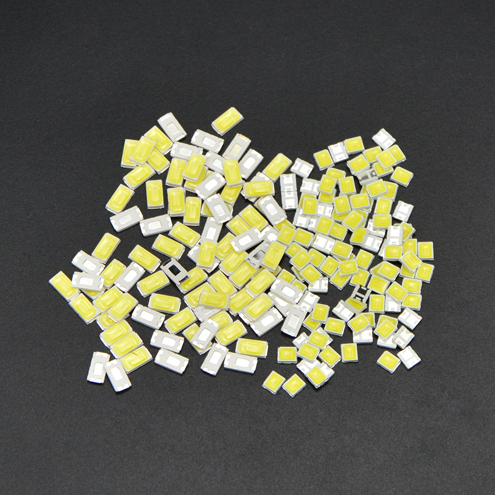 Best 100Pcs 100% Original Epistar SMD 5730 / 2835 Chip LED Lamp 40-55 LM LEDs Diode Light For LED Strip Spotlight, Indoor Bulb