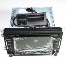 OEM RCD510 CD MP3 Car Radio&RGB Reversing Video Camera For VW New Passat Tiguan Sagitar VW RNS510 RCD510  3AD035190 5ND827566C