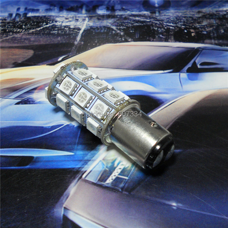 12V LED Car Bulb Lamp P21 / 5W S25 / 1157 BAY15d Alto / Baixo ângulo - Faróis do carro - Foto 2