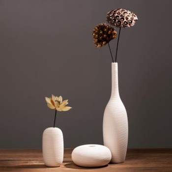 Creative ceramic vase decoration, Nordic home office restaurant desktop decoration