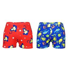 addd69c18a7 6-8T Kids Boys Swimming Trunks Elastic Children Swim Shorts Summer Child  Boy Clothes Cartoon. 2 Colors Available