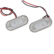 1Pair Marine Stainless Steel LED Navigation Lights 12V Boat Signal Warning Lamp Red/Yellow/Green/Blue/White