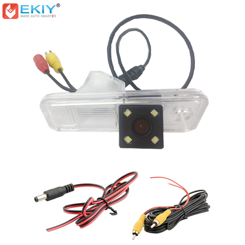 EKIY HD CCD 4 LED Car Rear View Camera For Hyundai Creta IX25 Auto Reverse Backup Camera Parking Camera Waterproof Wide AngleEKIY HD CCD 4 LED Car Rear View Camera For Hyundai Creta IX25 Auto Reverse Backup Camera Parking Camera Waterproof Wide Angle