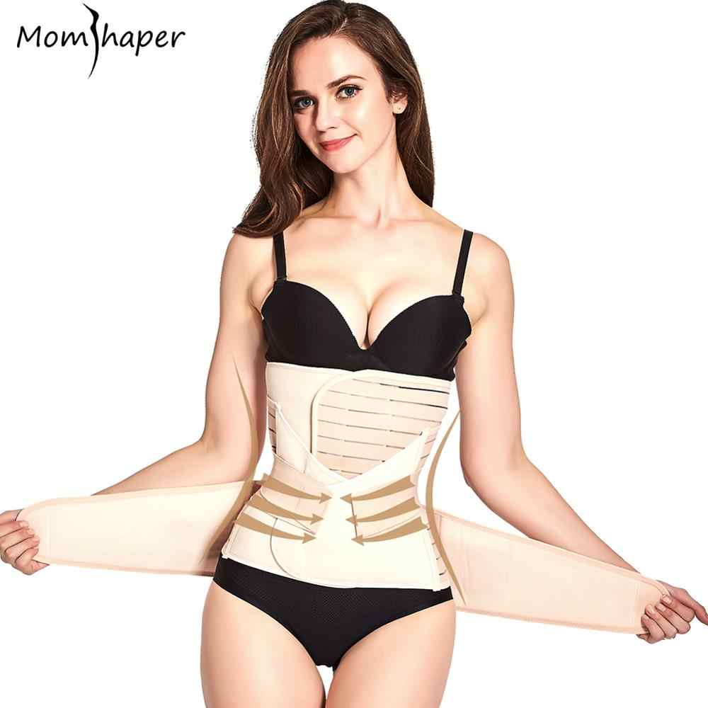 3 ชิ้น/เซ็ตผ้าพันคอคลอดบุตรหลังคลอดการตั้งครรภ์ Bandage Belly Band เอว corset หญิงตั้งครรภ์ Slim Shapers ชุดชั้นใน