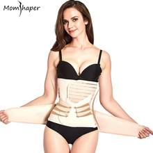 3 Pieces/Set Bandage Maternity Postnatal Belt Pregnancy Bandage Belly Band waist corset Pregnant Women Slim Shapers underwear(China)
