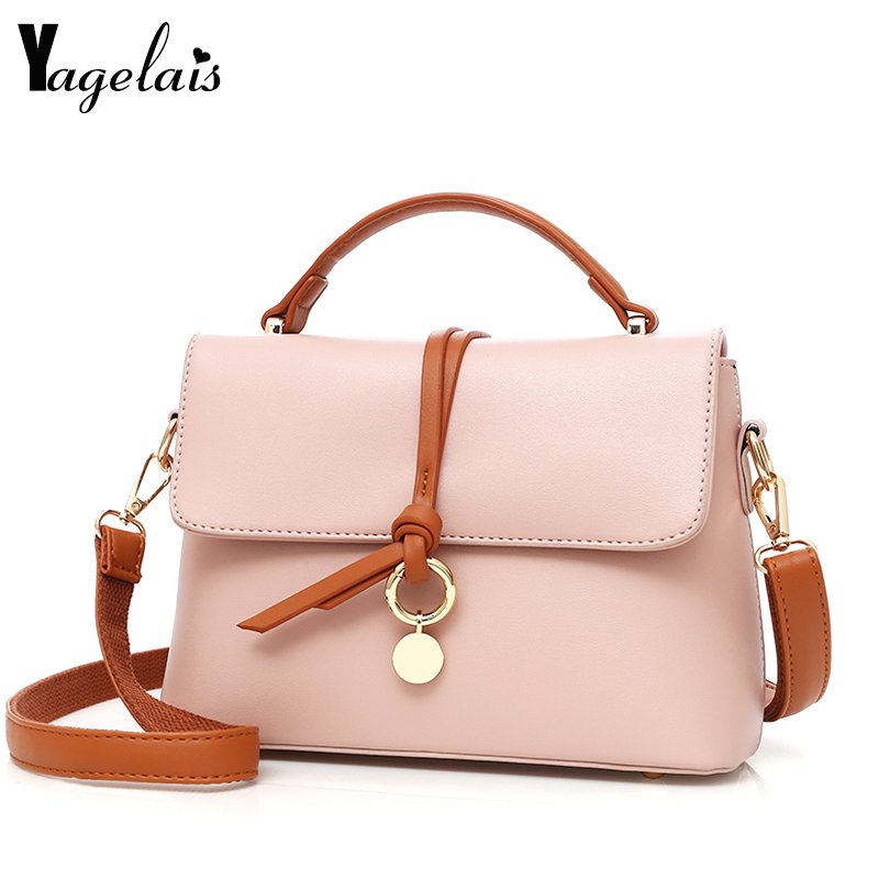 Women Sweet Small Flap Zipper and Hasp HandBags Pink Red Yellow Lady Shoulder Bags Crossbody Bags Simple Soft Fashion Tote Women clever книга любимые сказки с наклейками три медведя