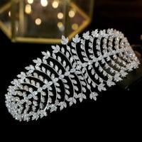 Middle Eastern classic wedding hair accessories crystal wedding headband bride zircon crown ladies jewelry