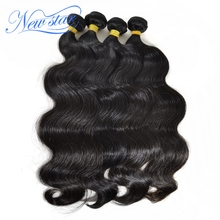 Brazilian Virgin Hair Body Wave 4 Bundles Deal Extension 100