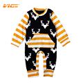 VICVIK Brand Newborn Baby Clothes Baby Rompers Bebe Boy Girl Clothing Infant Spring Autumn Long Sleeve Romper for Boys Girls