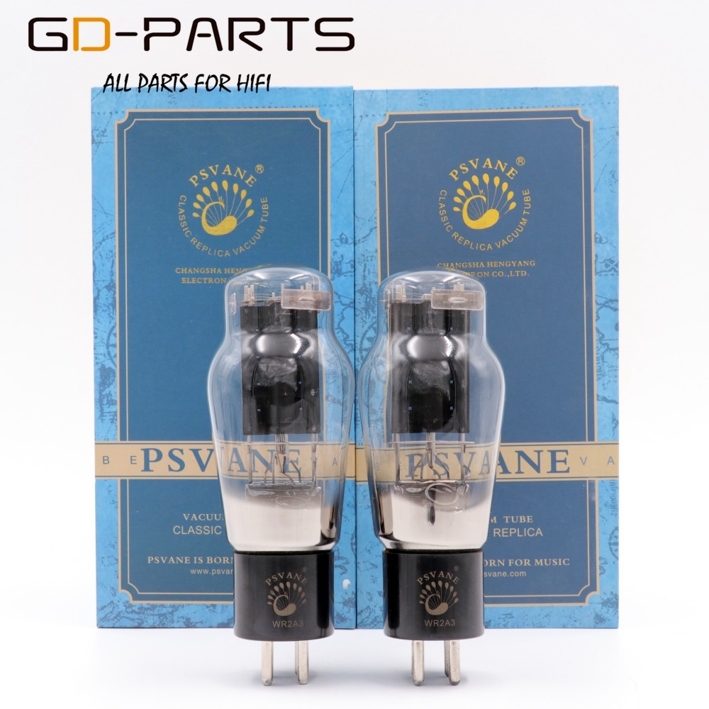 PSVANE WR2A3 Vacuum Tube Replace 2A3 Tubes Factory Test Match Special Good Sound Favor New Factory Matched Pair matched pair brand new psvane we310a vacuum tubes we310a 2pcs free shipping