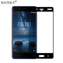 sFor Tempered Glass Nokia 8 Glass 9H Full Coverage Film Mobile Phone Screen Prot