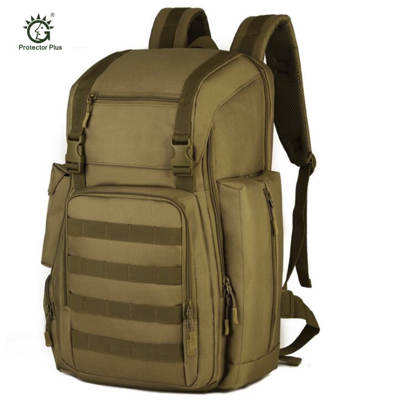 Military Tactical Backpack Large Army Assault Pack Waterproof Molle Bug Out Bag Rucksacks Outdoor Hiking Camping Hunting S398 9 colors new 50l molle high capacity tactical backpack assault outdoor military rucksacks backpack camping hunting bag