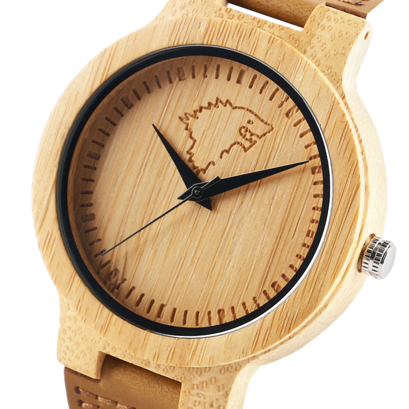 Cool Wooden <font><b>Watches</b></font> for <font><b>men</b></font> Awesome Game of Thrones Style House <font><b>Stark</b></font> Wolf Head Nature Wood Wristwatch Reloj Hombre Clock Hour image