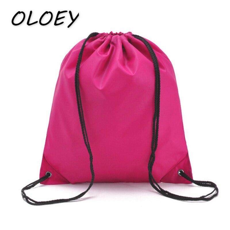 Unisex Solid Drawstring Bag Portable Shoulder Bag Travel Storage Organizer Bag Casual Shopping Bag#Unisex Solid Drawstring Bag Portable Shoulder Bag Travel Storage Organizer Bag Casual Shopping Bag#