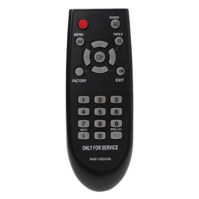 AA81 00243Aリモコンcontorller交換サムスンの新サービスメニューモードTM930テレビテレビ
