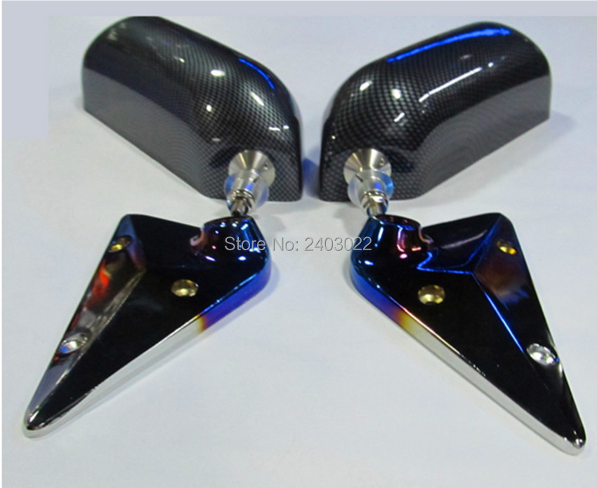 GP F1 Type Side Mirror Wing Mirror Convex Glass carbon look Universal (LH+RH)GP F1 Type Side Mirror Wing Mirror Convex Glass carbon look Universal (LH+RH)