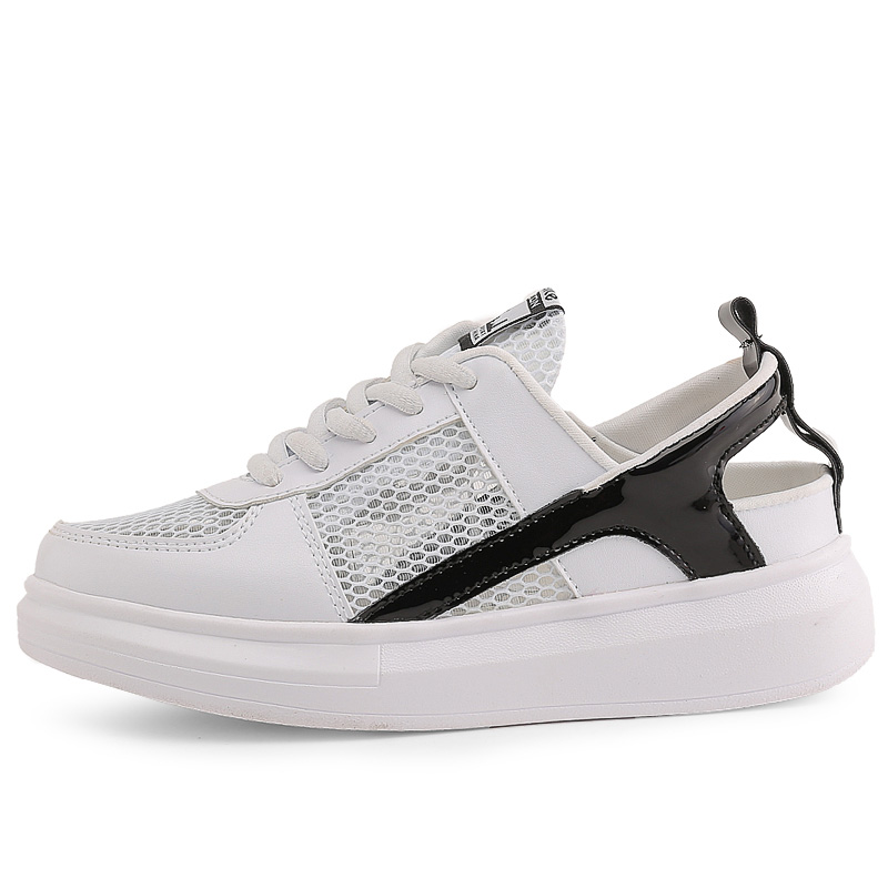 c35d5af796 US $25.95 10% OFF|Newest Women's Outdoor Air Mesh Sneakers Anti slip Sport  Shoes Breathable Cool Thick Bootom Tennis Shoes Sexy Girls Tide Shoes-in ...