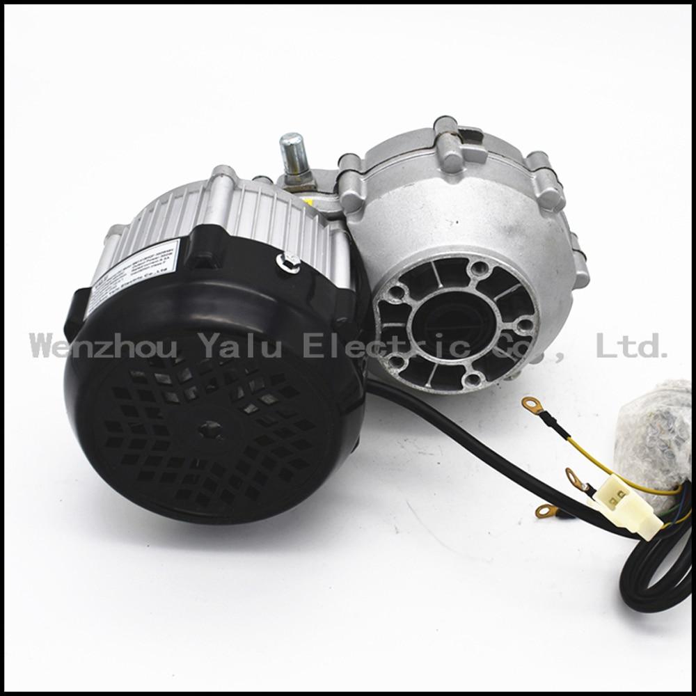 Купить с кэшбэком Driven by rear axle permanent magnet DC brushless motor BM1418HQF(BLDC)500W48V