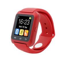 Лучшие Smartch U8 Bluetooth U80 Смарт часы BT-уведомление анти-потерянный MTK наручные часы для iPhone 4S/5 5S/6 s Samsung телефона Android
