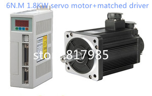Image 2 - شحن مجاني 6N.M 1.8KW 3000RPM 110ST محرك سيرفو يعمل بالتيار المتردد 110ST M06030 + المتطابقة سائق سيرفو + كابل عدد المحرك الكامل