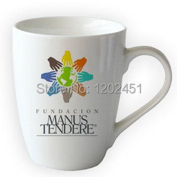 SPSCO 11 oz Tambor Em Forma de Cerâmica Caneca de café Com o Logotipo Personalizado e Design