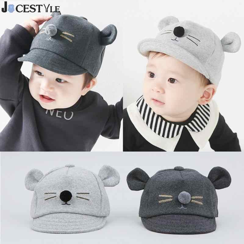 f8fa56cf Gorro para bebé con diseño de gato bonito gorra de béisbol de algodón para  niños y