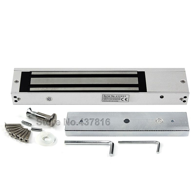 цена на 250KG/280KG Magnetic Lock Optional Waterproof Time Delay Feedback Electromagnetic Lock