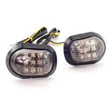 Пара LED боковой габаритный мигалка лампа сторона поворотники свет для Honda MSX125 bws