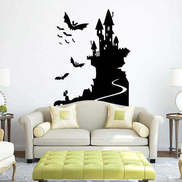 79 58cm Diy Halloween Home Decor Wall Stickers Removable Waterproof
