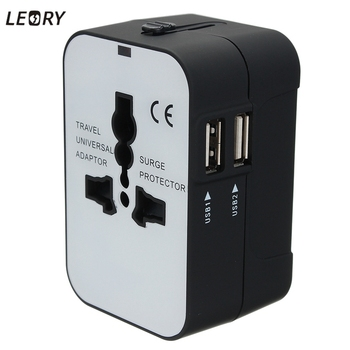 LEORY All in One Universal Electric Plug Adapter