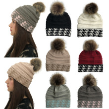 2018 Skullies Beanies Winter Hat For Women Warm Hat Knitting Warm Cap Warm Wool Hat Cap Leisure Fashion Thickening Winter Hats free shopping 2016 fashion wool winter hats for women winter cap thickening thermal knitted hat female caps
