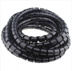 Image 4 - 3M 9FT Cable Wire Wrap Organizer Spiral Tube Cable Winder Cord Protector Split Loom Tubing Wire Conduit Hose Cover Flexible tube
